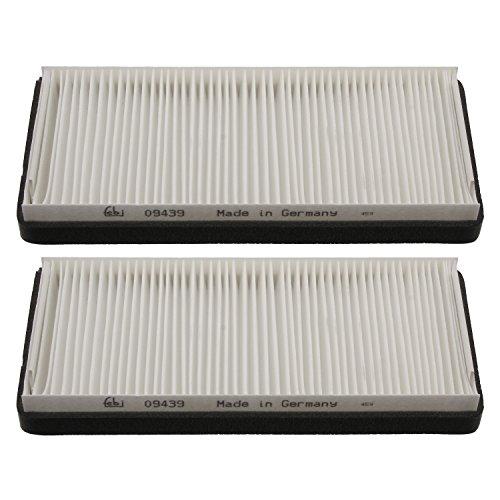 Preisvergleich Produktbild febi bilstein 12618 Innenraumfiltersatz/Pollenfiltersatz (Innenraumfilter/Pollenfilter), 1 Stück