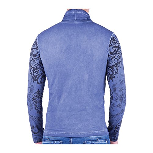Herren Sweatshirt Blau