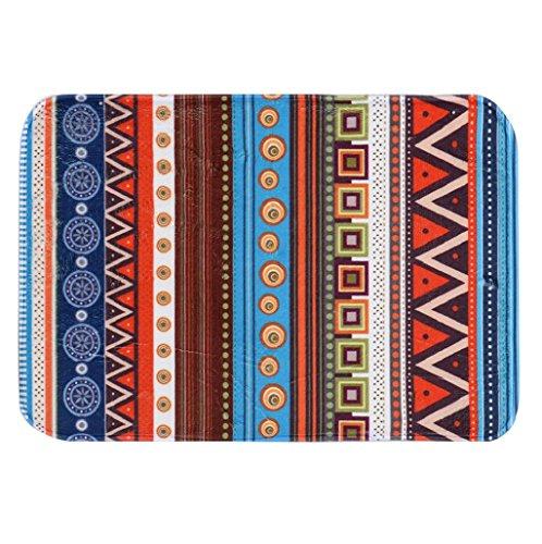Protectores de tapicería Sannysis Alfombras antideslizantes Alfombra de bohemio (40 * 60 cm)
