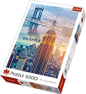 TREFL 10393 Puzzle Puzzle - Rompecabezas (Puzzle Rompecabezas, Ciudad, Niños y Adultos, Niño/niña, Interior, Cartón)
