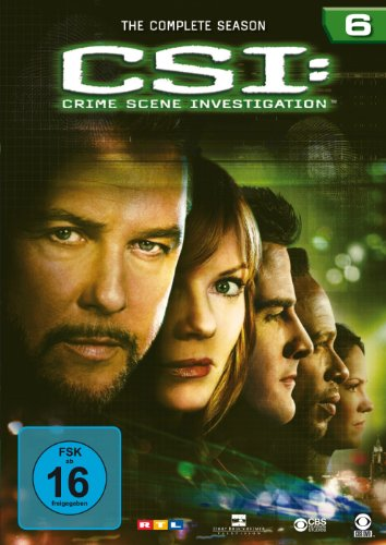 CSI: Crime Scene Investigation - Season 6 [6 DVDs]