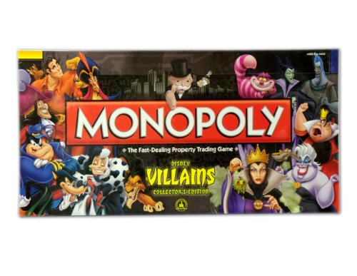 Disney Monopoly Game Villains Edition by Disney