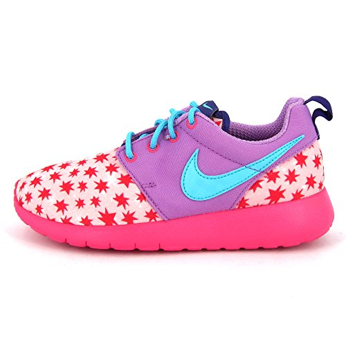 Nike Roshe One Print (Gs), Chaussures de course fille Rose