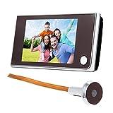 Mirilla digital de 120º, con pantalla LCD táctil de 3,5 pulgadas, timbre digital y cámara IR a color