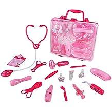 Juegos de Médicos para Niños Maletín Médico Juguete de Doctora Para Infantiles 3 Años + (rosa)
