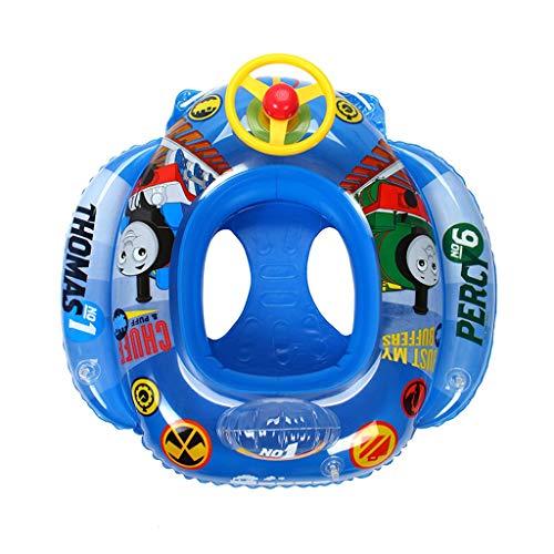 XJLXX Thomas Sommer Schwimmkreis Großsitz Verdickung Schwimmkreis Flugzeugsitz Wasser Ausrüstung Mit Abschleppseil PVC-Material Schwimmring für Kinder