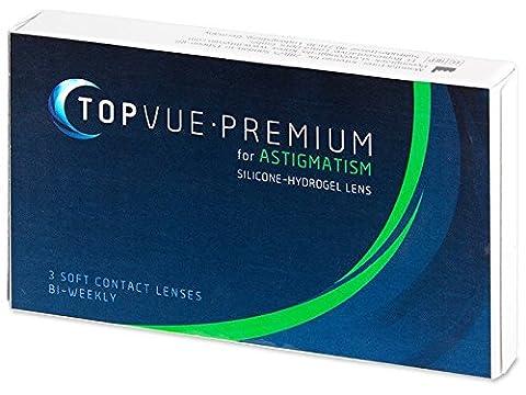 TopVue Premium for Astigmatism 2-Wochenlinsen weich, 3 Stück / BC