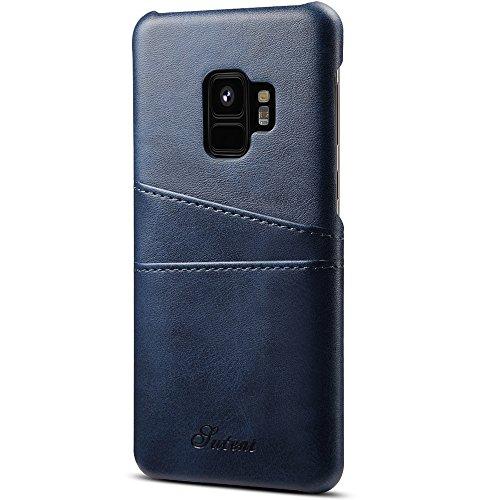 Samsung S9/S9Plus Portefeuille en cuir PU Coque de téléphone légère protéger entièrement le téléphone