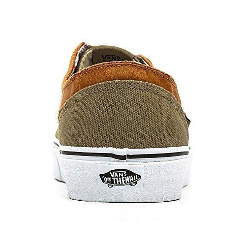 Vans U BRIGATA Unisex-Erwachsene Sneakers (C&L) Coriander/True White