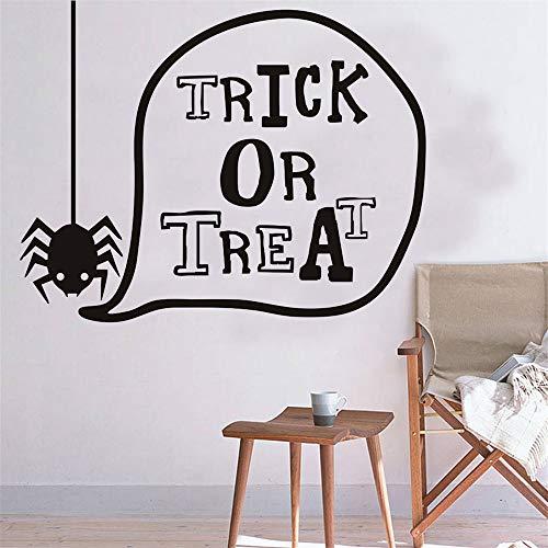 Aufkleber Happy Halloween Spinne Wand niedliche dekorative Kind Poster Hintergrund Home Decor 29 * 23 cm ()