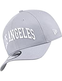 A NEW ERA Gorra 39Thirty MLB Los Angeles Dodgers Banner Word Gris S M d98dab0cfce