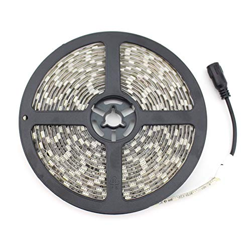 Tira LED 12V DC SMD5050 60LED/m 5m IP20 Blanco Neutro 4000K-4500K efectoLED