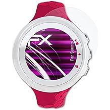 atFoliX Lámina Protectora de Cristal Suunto M2 Película Vidrio - FX-Hybrid-Glass