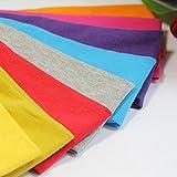 Frcolor 4 pezzi bande di yoga, elastico in cotone elasticizzato Stretch antiscivolo in esecuzione fascia fitness per donne e uomini (colori assortiti)
