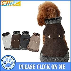PAWZ Road Vetement Chien Jacket Veste Chien Coupe-vent Doux et resistant aux taches