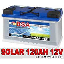 Versorgungsbatterie 120Ah 12V Solarbatterie Wohnmobil Mover Boot Batterie 100Ah
