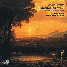 Haydn: Symphonies Nos 6-8 ¡¤ Le Matin, Le Midi, Le Soir /Freiburger Barockorchester By Joseph Haydn (Composer),Freiburg Baroque Orchestra (Orchestra) (2002-02-11)