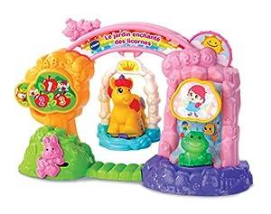 VTech Tut Tut Animo Le Jardin enchanté Des licornes (+ Emma, La Licorne Abracadabra) - Juegos educativos (La Licorne Abracadabra), Multicolor, Niño/niña, 1 año(s), 5 año(s), Francés, AAA