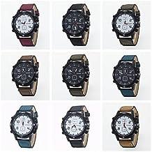 Relojes Hermosos, Estilo de ocio deporte al aire libre 2016 nueva llegada reloj de pulsera unisex precio barato ( Color : Negro )