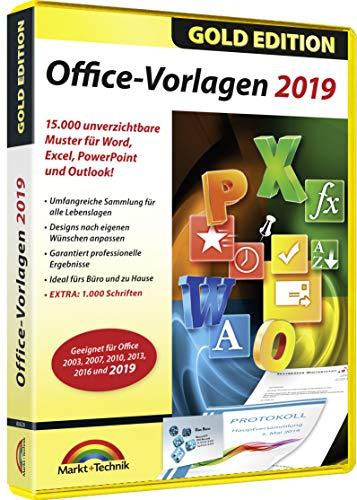 Office 2019 Vorlagen - 15.000 Vorlagen zu Office 2019, 2016, 2013, 2010 für Windows 10 / 8.1 / 8 / 7