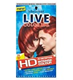 Schwarzkopf Live-Farb Xxl Hd 35 Real Rot Rotes Dauer Haarfärbemittel