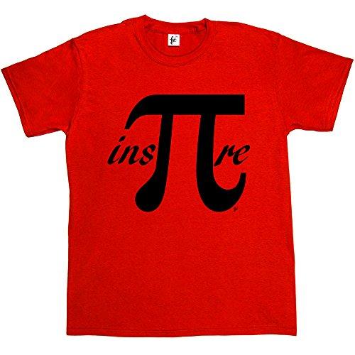 Fancy A Snuggle -  T-shirt - Collo a U  - Maniche corte  - Uomo Rosso