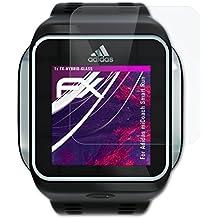 cheap for discount efb7d c63d2 atFoliX protettivo vetro plastica pellicola per Adidas miCoach Smart Run  Pellicola Vetro - FX-Hybrid