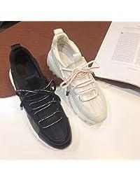 QQWWEERRTT Zapatos de Moda para Mujer Zapatos Deportivos Harajuku Zapatos Casuales Salvajes Zapatos nuevos de...
