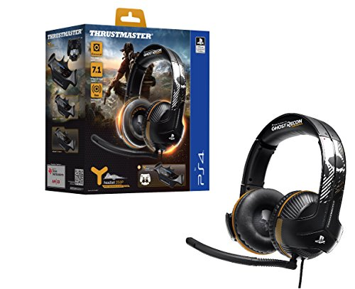 Thrustmaster Y-350P GHOST RECON WILDLANDS EDITION - Auriculares - Compatible PS4 - Sonido 7.1 - Micrófono unidireccional, desmontable y ajustable