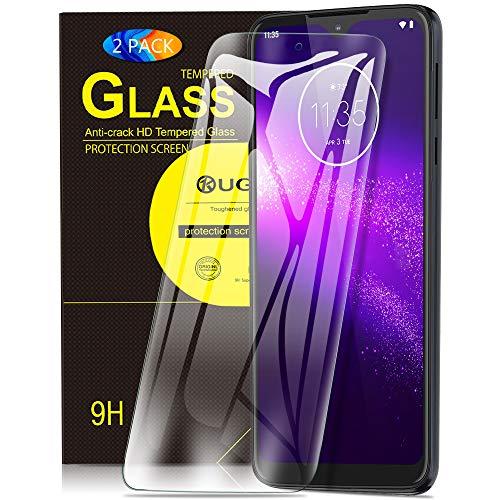 KuGi. pour Verre trempé Motorola One Macro/Moto G8 Play, [Dureté 9H] HD Ultra Transparent Protection écran en Verre trempé pour Motorola One Macro/Moto G8 Play (Pack de 2)