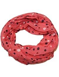 Prinidor Schal/Tuch Loop Silk & Cotton Punkte Dots Trend Boho