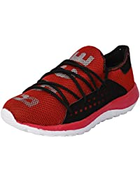Foot N Style Men's Red Sports Shoes - B075D494ZT
