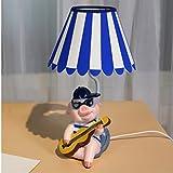 Kinder Kreative Schreibtischlampe warmes Licht Augen -Schutz Schlafzimmer Nachttischlampe Cartoon