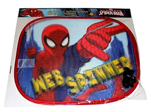 Preisvergleich Produktbild Marvel Spiderman Auto Sonnenschutz Sonnenblende für Jungen