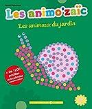 Les animo'zaïc - Les animaux du jardin + de 1200 pastilles autocollantes repositionnables...