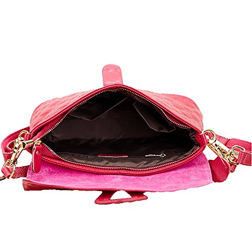 GSPStyle - Borsa a tracolla donna hot pink