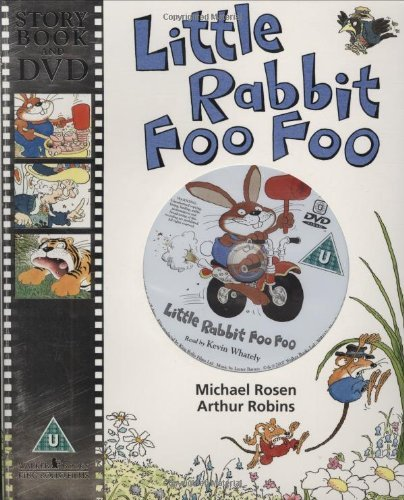 Little Rabbit Foo Foo with DVD (Book & DVD) by Rosen (2007-06-08)