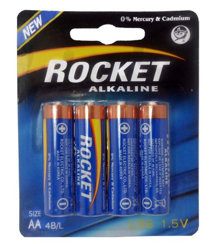 4 Piece Package Of Rocket Brand