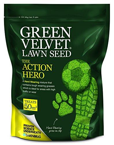 Green Velvet The Action Hero - Semi per prato, 1,5kg