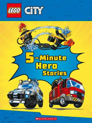 Five-Minute Hero Stories (LEGO City) (Story-reader Toy Story 3)
