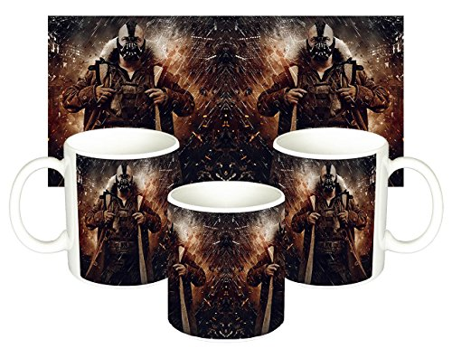 Batman The Dark Knight Rises Tom Hardy Bane Taza Mug