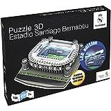 Nanostad - Santiago Bernabeu, puzzle 3D (Giochi Preziosi NND05000)