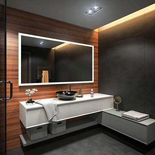 Badezimmerspiegel nach Maß mit LED Beleuchtung - 4