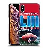 Officiel NFL Stade De Mercedes-Benz Atlanta 2 2019 Super Bowl LIII Étui Coque en Gel...