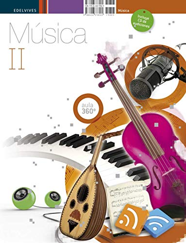 Musica II 3º ESO + CD de audiciones (Aula 360º)