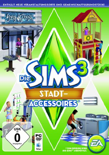 Electronic Arts Die Sims 3: Stadt - Accessoires (Add - On) - [PC]