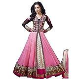 Rozdeal Women Chiffon Salwar Suit Dress ...