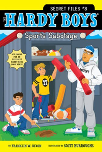 Sports Sabotage (Hardy Boys: The Secret Files, Band 8)