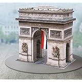 """aue-verlag 21x 20x 21cm Kit de modèle """"Arc de Triomphe Paris"""