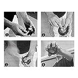 Spaceball Fingertrainer Ball Unterarmtrainer Handgelenktrainer, WristBall Power Arm Twister, Ø 7,5cm, Inklusive Übungsanleitung - 3